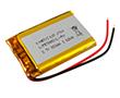 3.7V, 980mAh 5,9x34,8x53mm, przewody 70mm: AK LIP573450