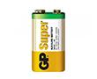 Bateria alkaliczna 6LF61 9.0V 25.5x16.5x47.5 GP SUPER: BAT6F22-1604A-S1-gp