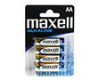 Bateria cynkowa AA/R6 1.5V 14x50mm 3000mAh Maxell folia 4szt.: BATAA-max S4