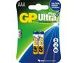Bateria alkaliczna AAA/LR03/R3 1.5V 10.5x44.5mm GP Ultra+: BATAAA-24AUP-gp