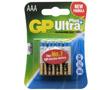 Bateria alkaliczna AAA/LR03/R3 1.5V ø10.5x44.5mm GP Ultra+: BATAAA-24AUP-U4gp