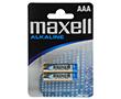 Bateria alkaliczna AAA/LR3 1.5V 10.5x44.5mm 1200mAh Maxell blister 2szt.: BATAAA-max B2