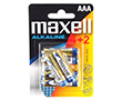 Bateria alkaliczna AAA/LR03 1.5V 10.5x44.5mm 1200mAh Maxell blister 6szt.: BATAAA-max B6