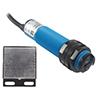Czujnik fotoelektryczny; PNP; NO/NC; refleksyjny (z lustrem); 2m: CZ G18-3B2PC