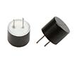 Czujnik ultradźwiękowy, zamknięty, odbiornik, 40kHz, ob. plastik, kolor czarny: CZ U4010FBPSR