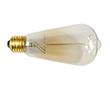 Żarówka ST64 Edison, 40W, biała ciepła (2700K), 360°, 230V: EDISON-ST64.40W-E27Y