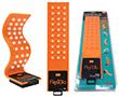 Elastyczna lampa LED, 30xSMD, 120lm, zasilanie: 3xAAA, kolor: pomarańczowy: G LED.FLEX30