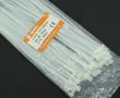Opaska zaciskowa 200x3.6mm; materiał: nylon; kolor: biały: K OZH200x3.6b