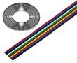Przewód wstążkowy 0.75mm2 x 8 żył linkowych TLWY: K TLWY080.75Cu