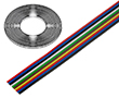 Przewód wstążkowy 0.12mm2 x 10 żył linkowych TLWY: K TLWY100.12Cu