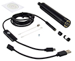 regulacja światła; 3x adapter-magnes,haczyk,lusterko; Windows/Android;: KAM insp.USB.5m.HD