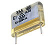 Kondensator papierowy WIMA, Y2, 22nF, 250VAC, raster 15mm: KPAP  22/250m15-W