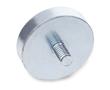 Magnes stały, neodym, wysokość 7mm, średnica 25mm, 200N, stal: M GN 50.3-ND-25-M6