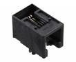 gniazdo telefoniczne 4P4C, niskoprofilowe, kątowe do druku: M095501-2441