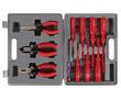Zestaw narzędzi - 11 części, płaskie: 4x100mm, 3x75mm, 5.5x125mm, 6.5x150mm: N VTSET18