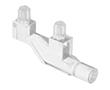 Światłowód do LED, 1 moduł, średnica: 3mm; kątowy, podwójny, z mocow. do PCB: OL.1271.1000