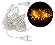 Lampki LED choinkowe, kolor: żółty, długość: 10m, ilość lampek:100szt,: OL.LAMPKI.CHOINK.Y.100