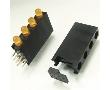 Oprawka LED ø 3.3mm plastik: OL.LH-340