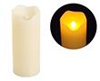 Świeca LED 5x12cm; kolor świecy: biały, woskowy: OL.SWIECA-5/12