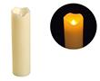 Świeca LED 5x18cm; kolor świecy: biały, woskowy: OL.SWIECA-5/18