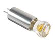 Żarówka LED 1.0W (odpowiednik 10W), biała ciepła (3000K), 100lm, 270°, 12V DC: OLBC.1.0W-G4KD-12VDC