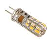 Żarówka LED 1.5W (odpowiednik 10W), biała ciepła (3000K), 100lm, 360°, 230V AC: OLBC.1.5W-G4S
