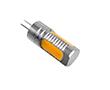 Żarówka LED 2.3W (odpowiednik 18W), biała ciepła (3000K), 200lm, 360°, 12V DC: OLBC.2.3W-G4C