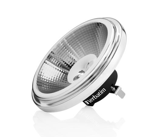 Żarówka LED typu AR111 10.0W (odp. 88W), b.ciepła (2700K), 675lm, 25°, 12V AC/DC: OLBC.A10.0W-G53VC