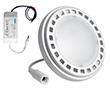 Żarówka LED typu AR111 11.0W (odp. 70W), b.ciepła. (3000K), 750lm, 120°, 230V AC: OLBC.A11.0W-ZASGLC