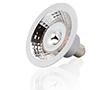 Żarówka LED AR70 7.5W (odp. 56W), b.ciepła (2700K), 540lm, 25°, 12V AC/DC, ściem: OLBC.A7.5W-B15DV