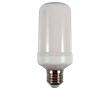 Żarówka LED flame 3W barwa ciepła 1300-1500K 96xSMD2835  D55x130mm: OLBC.FLAME.3.0W-E27DN
