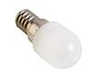 Żarówka LED 1.5W (odpowiednik 15W), biała ciepła (3000K), 100lm, 360°, 230V: OLBC.K1.5W-E14AN