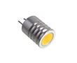 Żarówka LED 1.5W (odpowiednik 7.5W), biała ciepła (3000K), 135lm, 180°, 12V DC: OLBC.K1.5W-G4ZK