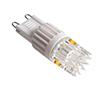 Żarówka LED 2.5W (odpowiednik 15W), biała ciepła (3000K), 165lm, 300°, 230V AC: OLBC.K2.5W-G9SZ