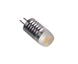 Żarówka LED 1.5W (odpowiednik 7.5W), biała ciepła (3000K), 135lm, 340°, 12V DC: OLBC.P1.5W-G4ZK