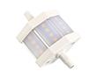 Żarówka LED 7.0W (odpowiednik 50W), biała ciepła (3000K), 630lm, 180°, 230V: OLBC.R7.0W-R7SGL