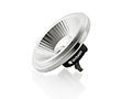 Żarówka LED typu AR111 10.5W (odp. 76W), b.nat (4000K), 750lm, 25°, 12V AC/DC: OLBN.A10.5W-G53VA