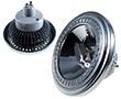 Żarówka LED typu AR111 12.0W, b.naturalna (4000K), 1000lm, 120°, 230V AC: OLBN.A12.0W-GU10A_MICROS