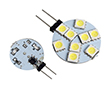 Żarówka LED 1.5W (odpowiednik 15W), biała nat. (4000K), 150lm, 120°, 12V AC/DC: OLBN.R1.5W-G4K