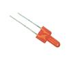 LED 2 mm; czerwona (620 -635nm); jasność 25 -45mcd; soczewka: czerwona matowa;: OLC.2m0045