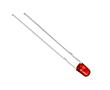 LED 3 mm; czerwona (635nm); jasność 50 -110 mcd; przeźroczysta;: OLC.3c0110