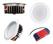 Oprawa LED typu downlight 25W, biała ciepła (3000K), 2230lm, 85°, 200÷240V: OLDL.BC.25W230-QS