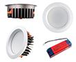 Oprawa LED typu downlight 30W, biała ciepła (3000K), 2644lm, 85°, 200÷240V: OLDL.BC.30W230-QS
