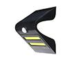 Lampa LED solarna czarna, 1.5W, biała zimna, 150lm, 120°, IP65, 1200mAh: OLEW.SOLAR.BZ.1.5W-BR