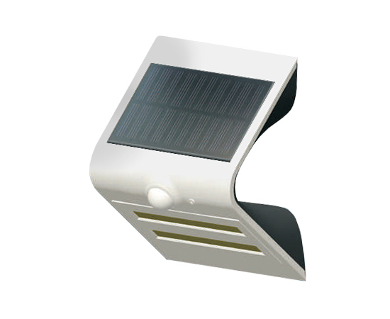 Lampa LED solarna biała, 1.5W, biała zimna, 150lm, 120°, IP65, 1200mAh: OLEW.SOLAR.BZ.1.5W-WB