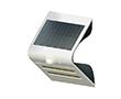 Lampa LED solarna biała, 1.5W, biała zimna, 150lm, 120°, IP65, 1200mAh: OLEW.SOLAR.BZ.1.5W-WG