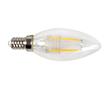 Żarówka LED Filament, 2W (odp. 25W), biała ciepła (2700K), 200lm, 360°, 230V: OLFBC.C2.0W-E14Y