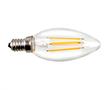 Żarówka LED Filament, 4W (odp. 40W), biała ciepła (3000K), 400lm, 360°, 230V: OLFBC.C4.0W-E14L1