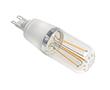 Żarówka LED Filament, 3.0W (odp. 30W), biała ciepła (2700K), 330lm, 360°, 230V: OLFBC.K3.0W-G9P