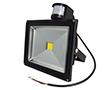 Naświetlacz LED COB 30W z czujnikiem ruchu PIR, b. naturalna, 2200lm, 120°, 230V: OLFL.BN.30Wk-ms